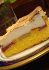 ルバーブケーキ〜日本のオーブン用