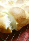 HBを使うと 簡単ちぎりメロンパン