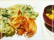 お野菜メイン☆酢しょうがかきあげと大葉天の写真