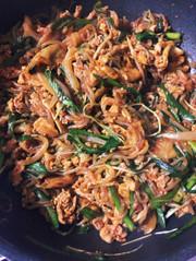 ダイエット 白滝 高野豆腐 チャプチェの写真