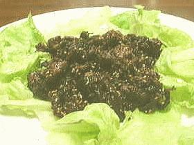 牛肉のサセミ☆レモン風味さっぱり揚げ