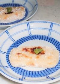 感動の食感 高級料亭の焼き胡麻豆腐