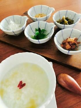 簡単幸せ★トッピングで美味しい中華粥