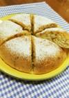 炊飯器で作るHMヨーグルトくるみケーキ☆