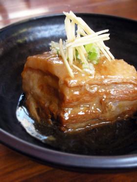 豚バラ肉のふるふる角煮