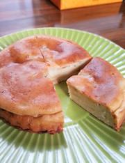 簡単で美味しいバナナチーズケーキ♪の写真