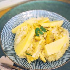 お弁当にも☆竹の子とアサリの炊き込みご飯