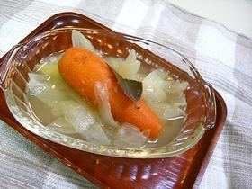 丸ごと人参スープ