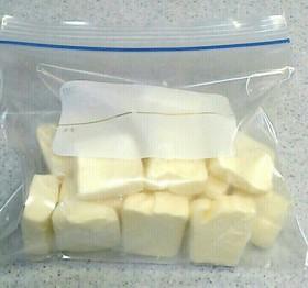 クリームチーズをカビさせない保存法♪
