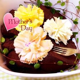 母の日☆簡単春巻きカーネーション