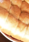 翌日でもフワフワ♡HBで簡単パン生地