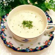 美味しく腸活♪ 押麦のヨーグルトスープの写真