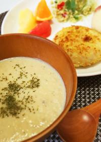腸活美肌レシピ♡豆乳きのこポタージュ