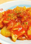 豚肉と大根のトマト煮