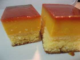 濃厚★かぼちゃのプリンケーキ