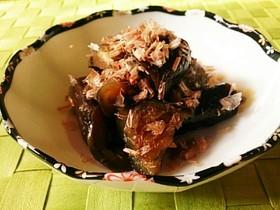 ◆簡単副菜♡鰹節香る お茄子の甘辛煮◆