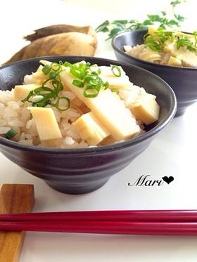 春の味覚♡筍ご飯