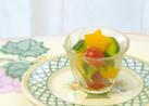 ズッキーニとパプリカのクレソルサラダ