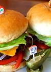 鹿角短角牛の熟成肩肉で本格ハンバーガー