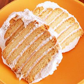 ビスケットのケーキ