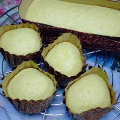 メイプル蒸しケーキ