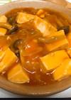 えびちりソースで★野菜たっぷり麻婆豆腐