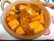 えびちりソースで★野菜たっぷり麻婆豆腐の写真