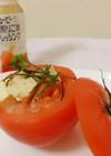 *豆腐とまるごとトマトのカップサラダ*
