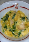 ❝小松菜と鶏もも❞で超~簡単❢ 親子丼❤