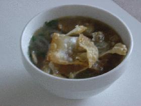 えびボールスープ