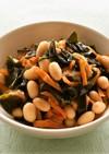 大豆とわかめの五目梅煮(精進料理)