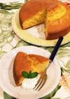 HM混ぜて焼くだけ!簡単☆豆乳人参ケーキ