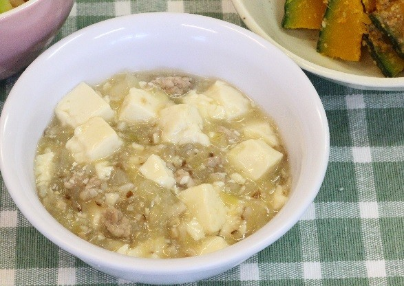 離乳食9か月~麻婆豆腐