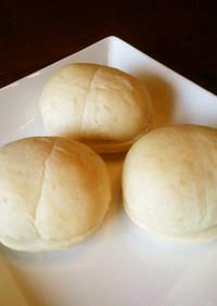 白くてふわふわの練乳パン