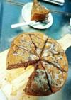 蓮根とごぼうのケーキ