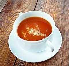 トルコのトマトスープ