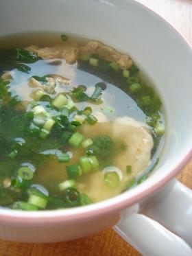 余りレタスの簡単スープ