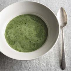 冷製しそスープ