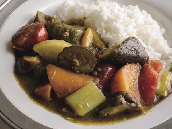 野菜ごろごろカレー