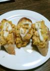【卵!?】カボチャトースト【ヴィーガン】