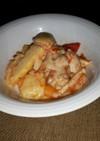筍と鶏肉のチーズ焼き