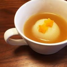 簡単♡まるごと新玉ねぎのカレースープ♡