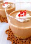 豆腐でヘルシー♡チョコレアチーズケーキ