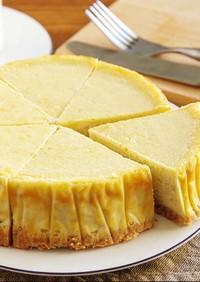 ☆簡単☆しっとりバナナチーズケーキ