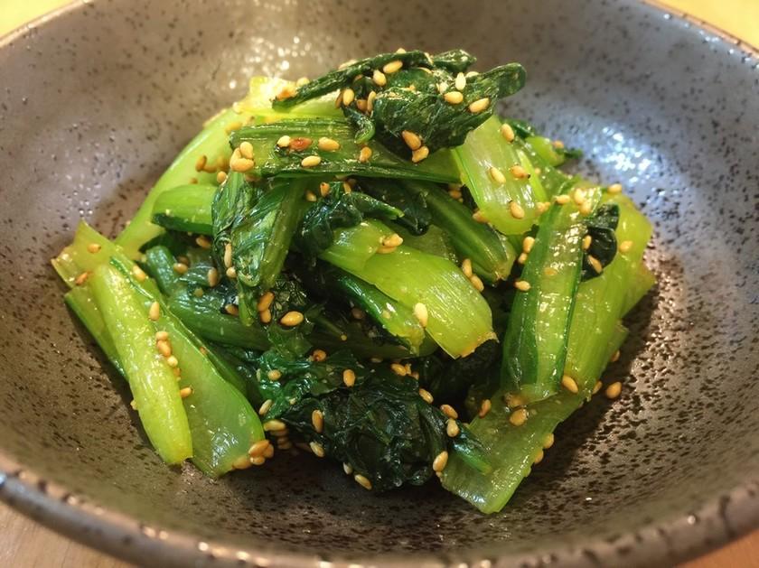 簡単美味しい♪小松菜のナムル