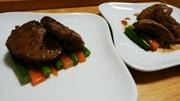 犬ご飯 鶏レバーソテーの写真