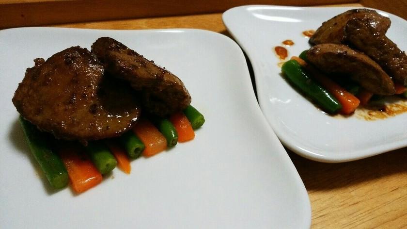 犬ご飯 鶏レバーソテー