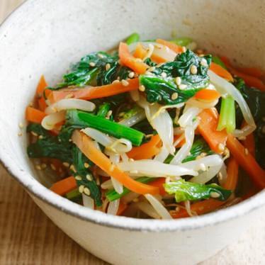 ☆3色野菜のナムル☆