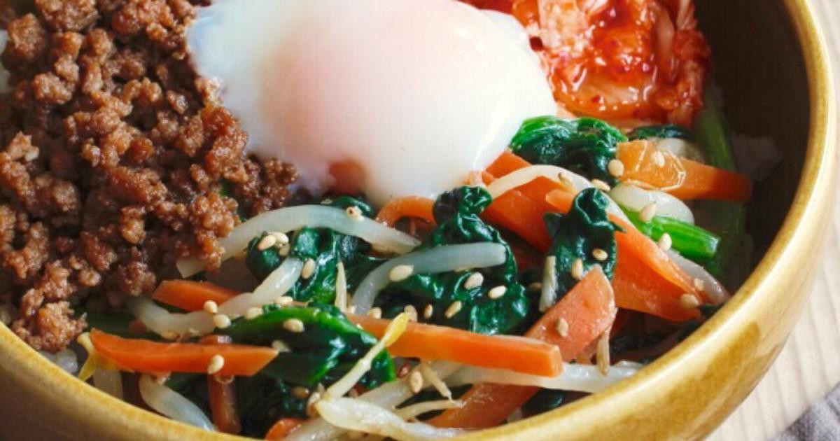 ☆簡単ビビンバ☆ by ☆栄養士のれしぴ☆ 【クックパッド】 簡単おいしいみんなのレシピが299万品