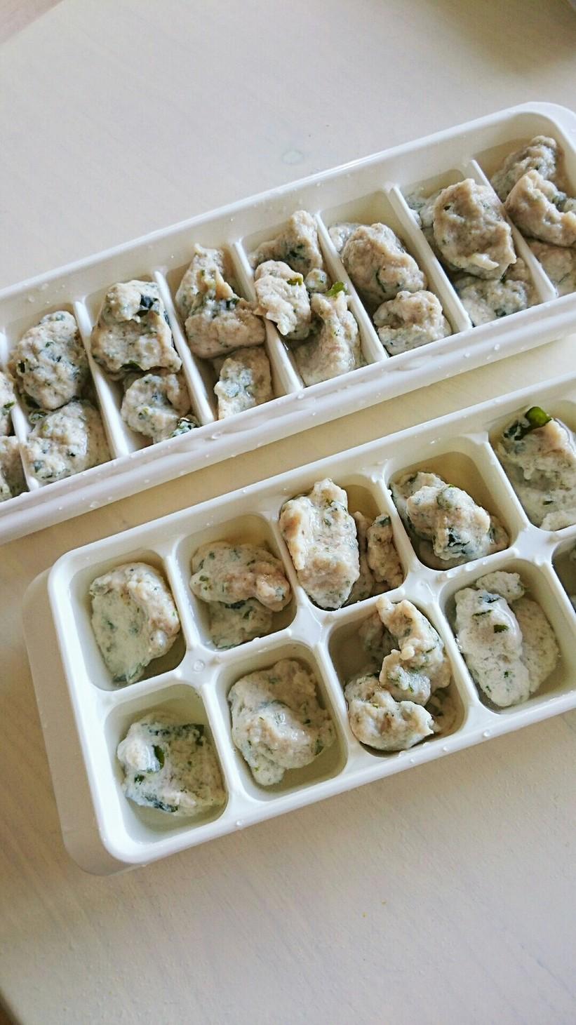 フワフワお豆腐ブリ団子 離乳食後期